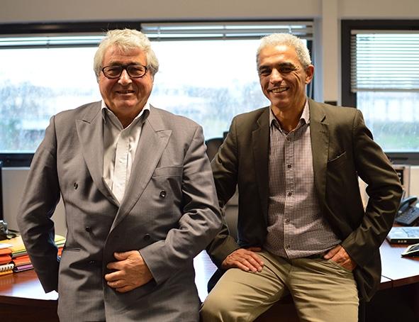 Jean-Paul Belval, gérant, et Cyrill Vachon, directeur commercial. - SOUEN LÉGER/LH