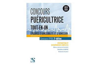 Concours puéricultrice 2019-2020