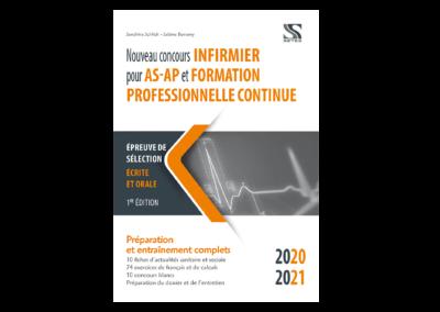 Nouveau concours infirmier pour AS-AP et formation professionnelle continue 2020-2021