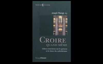Décès de Joseph Moingt, le doyen des théologies
